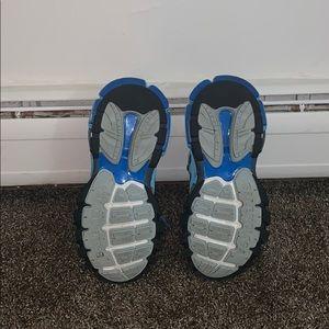 Balenciaga Shoes - Blue balenciaga track shoes.